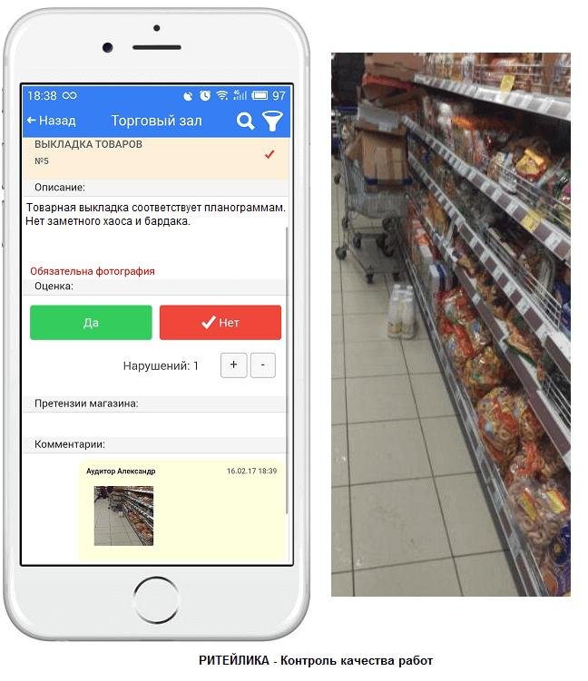 Проверка магазина тайным покупателем