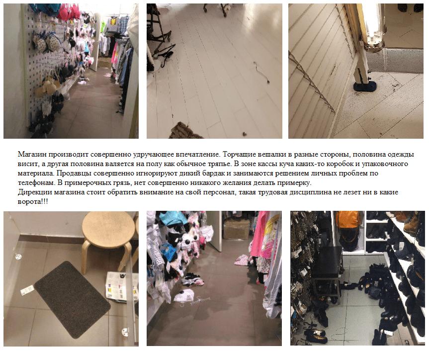 Проверки тайного покупателя в магазине одежды и обуви